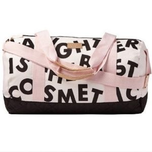"NEW Benefit ""Laughter is the Best Cosmetic"" Duffle"